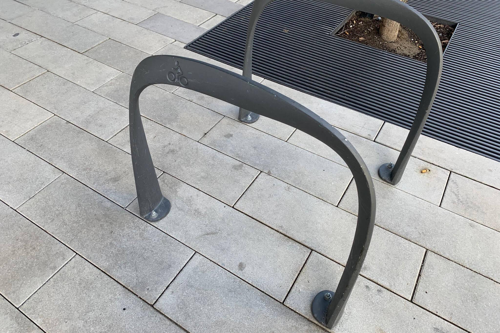 bike racks regent park