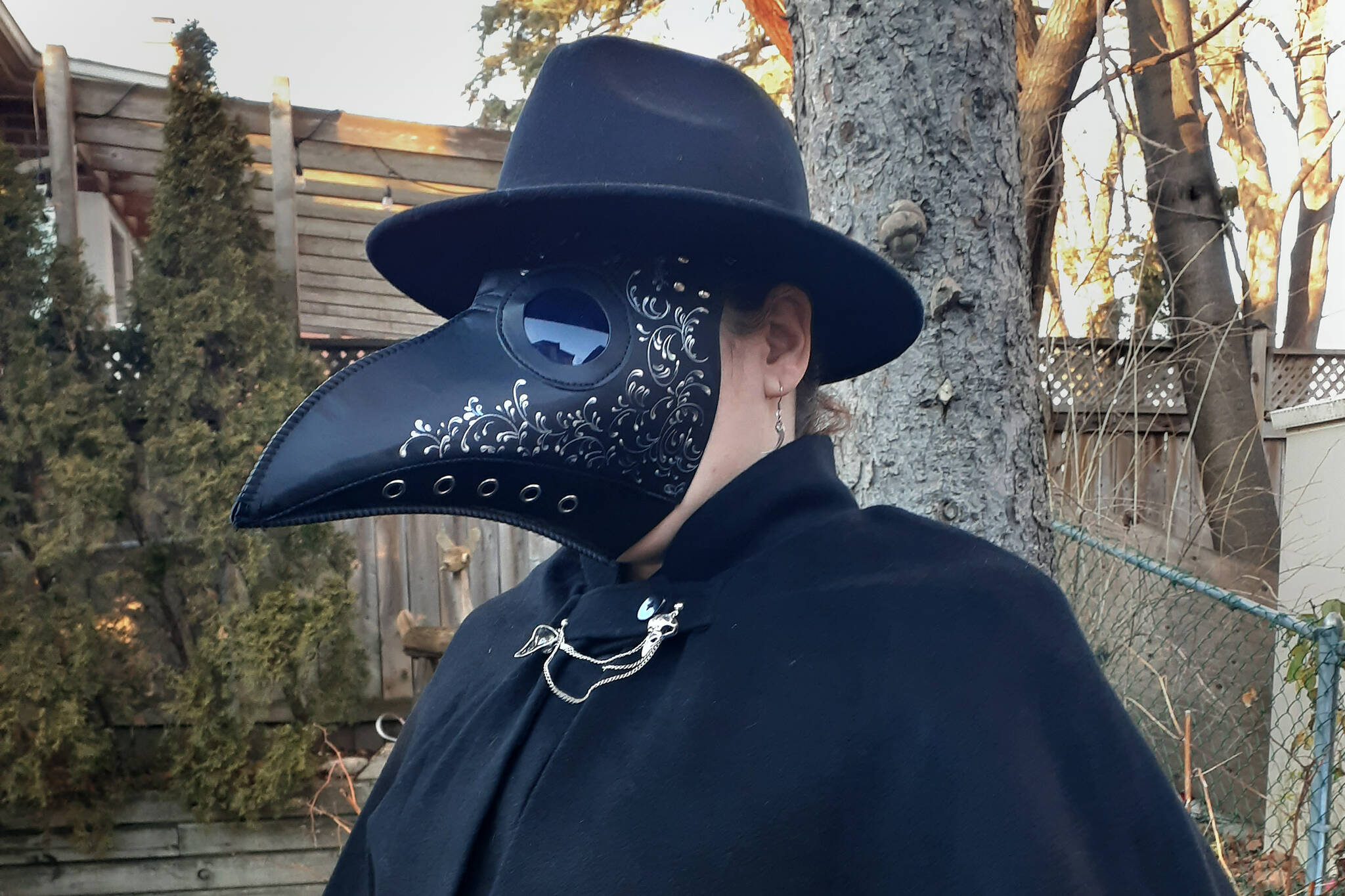 plague doctor mask toronto