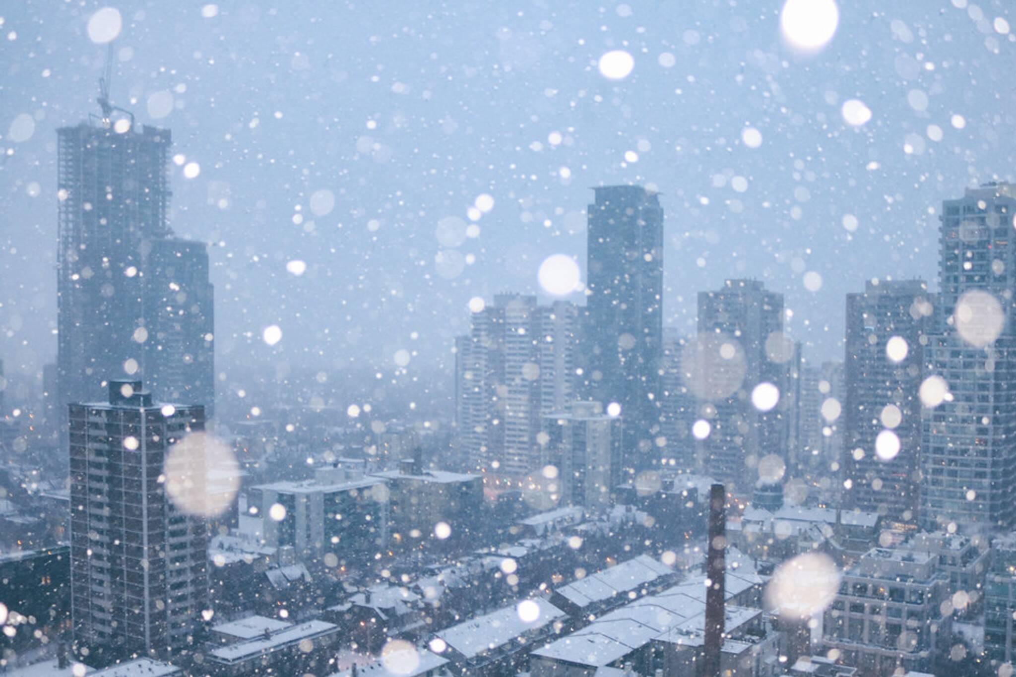 white christmas toronto