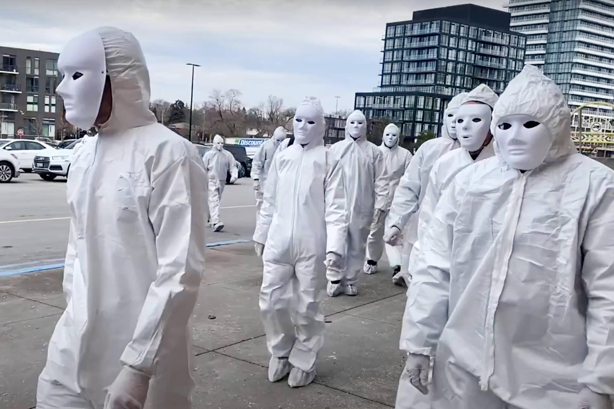 anti mask protest toronto