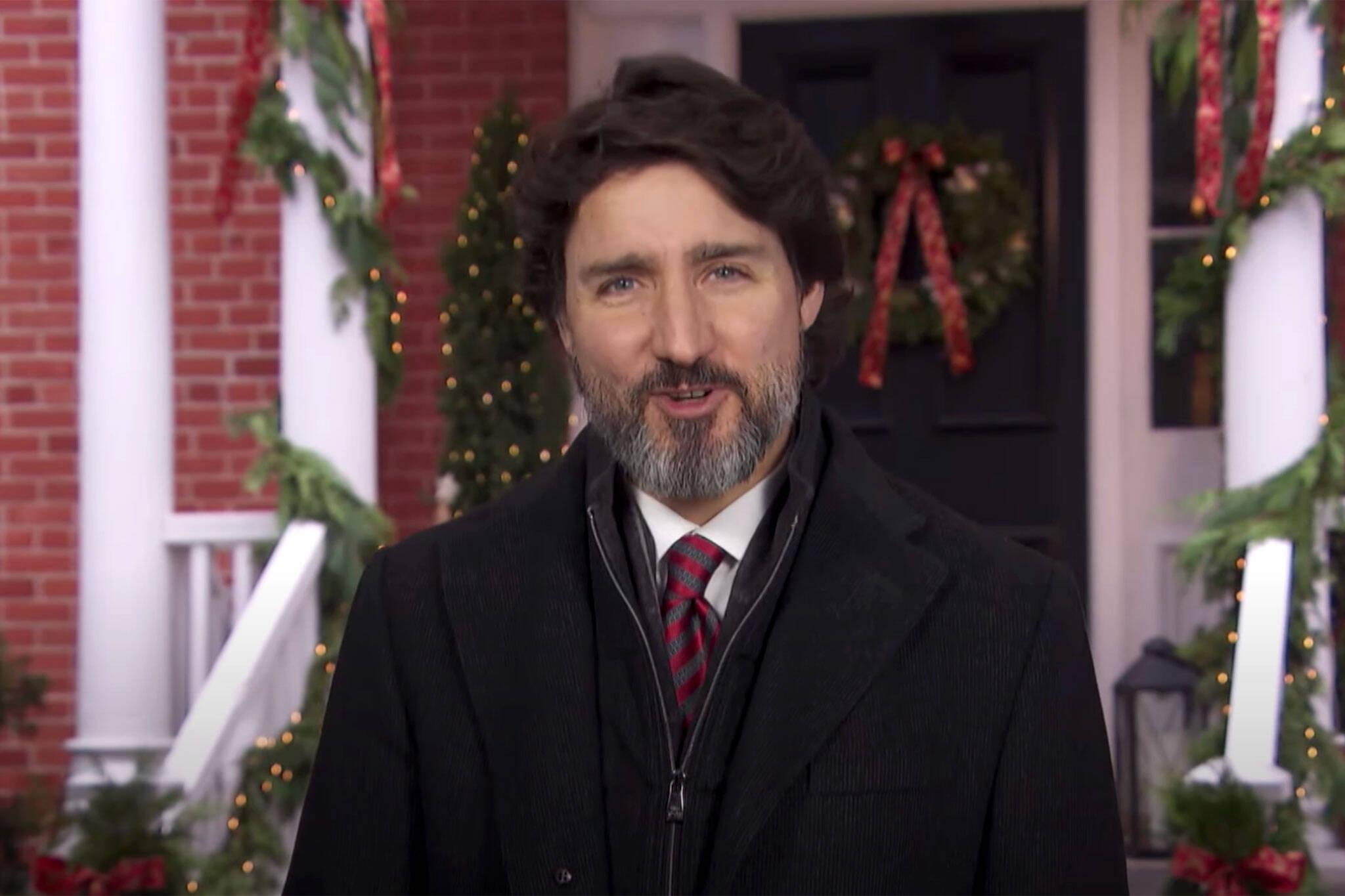 trudeau christmas message