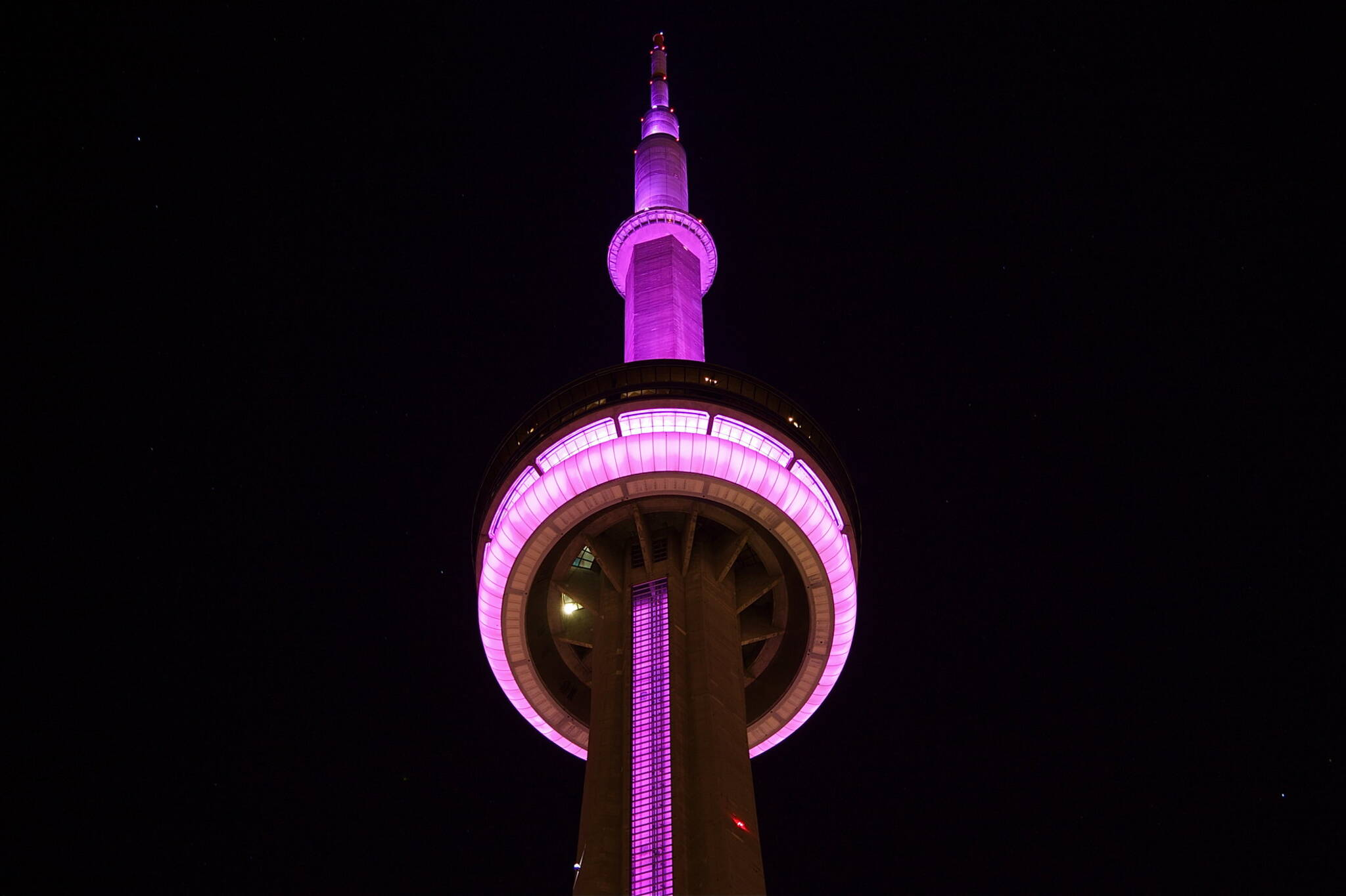 cn tower new years eve