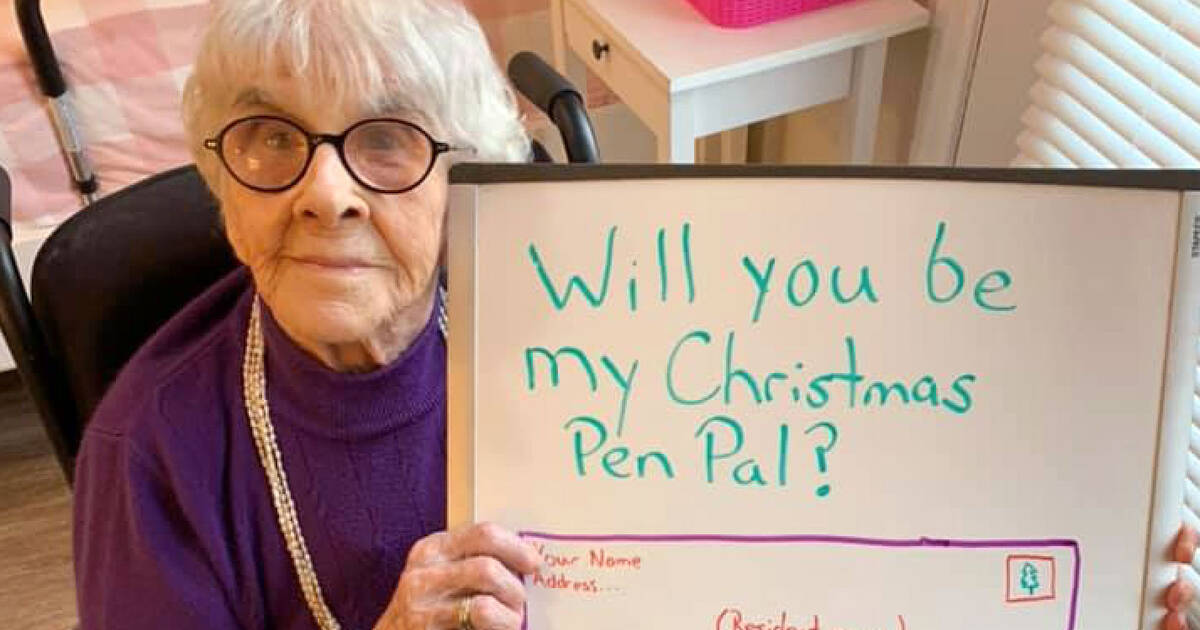 All these seniors in Ontario want for Christmas is for you to send them a letter