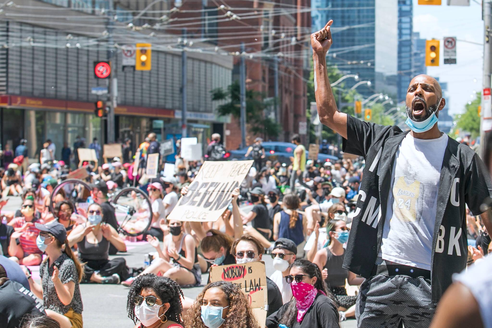 protests toronto 2020