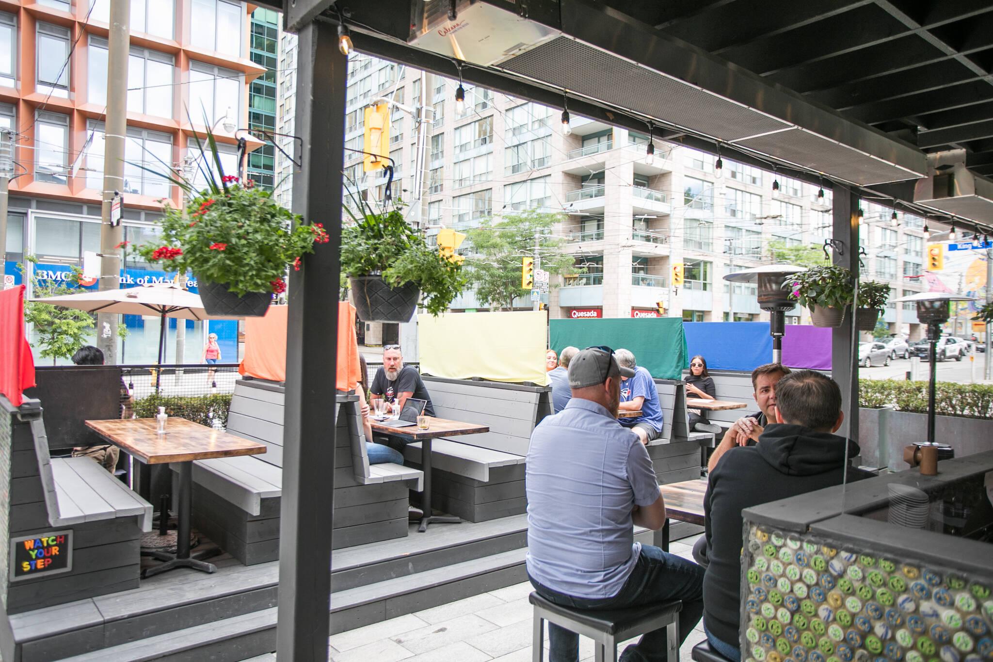 patios open toronto