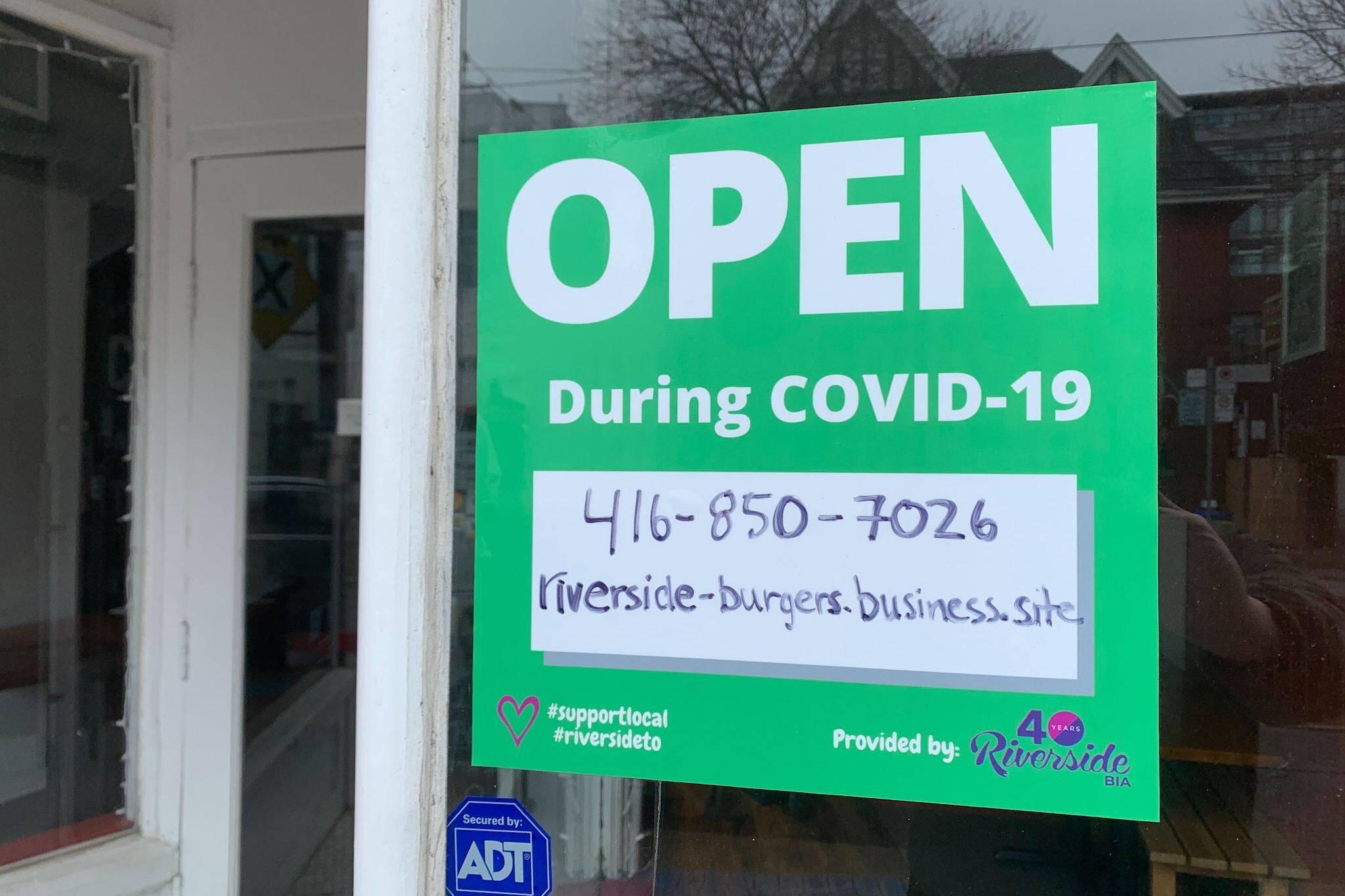 stores open in toronto