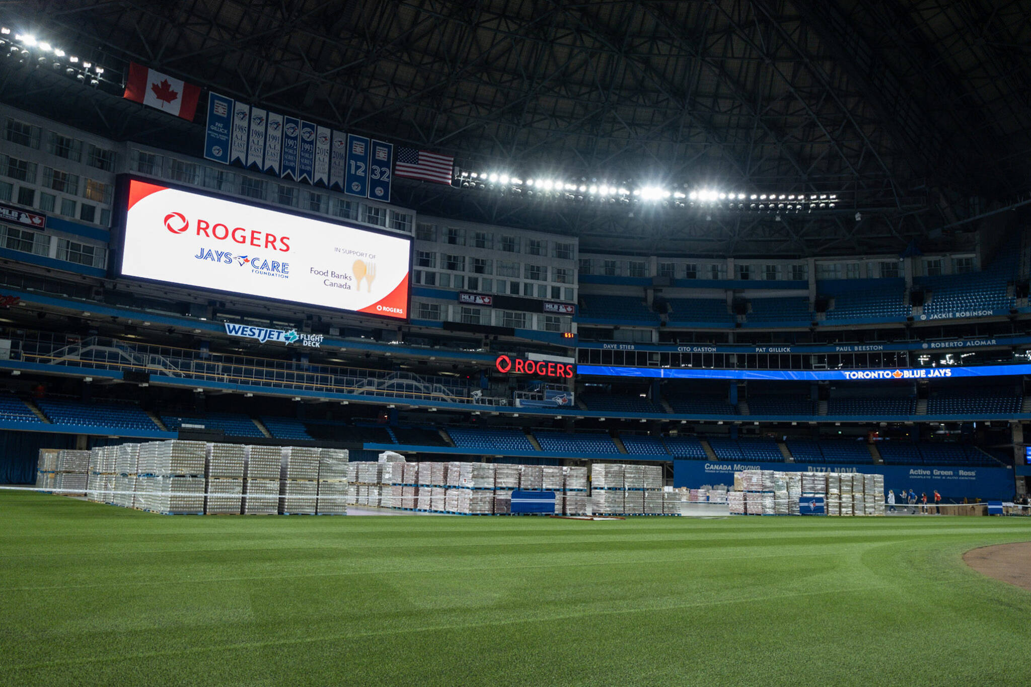 rogers Centre food bank