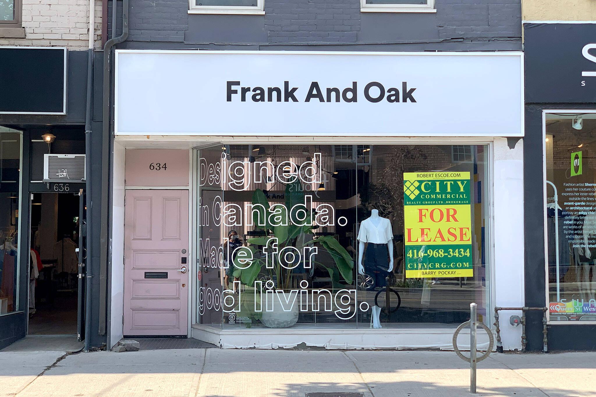frank and oak women