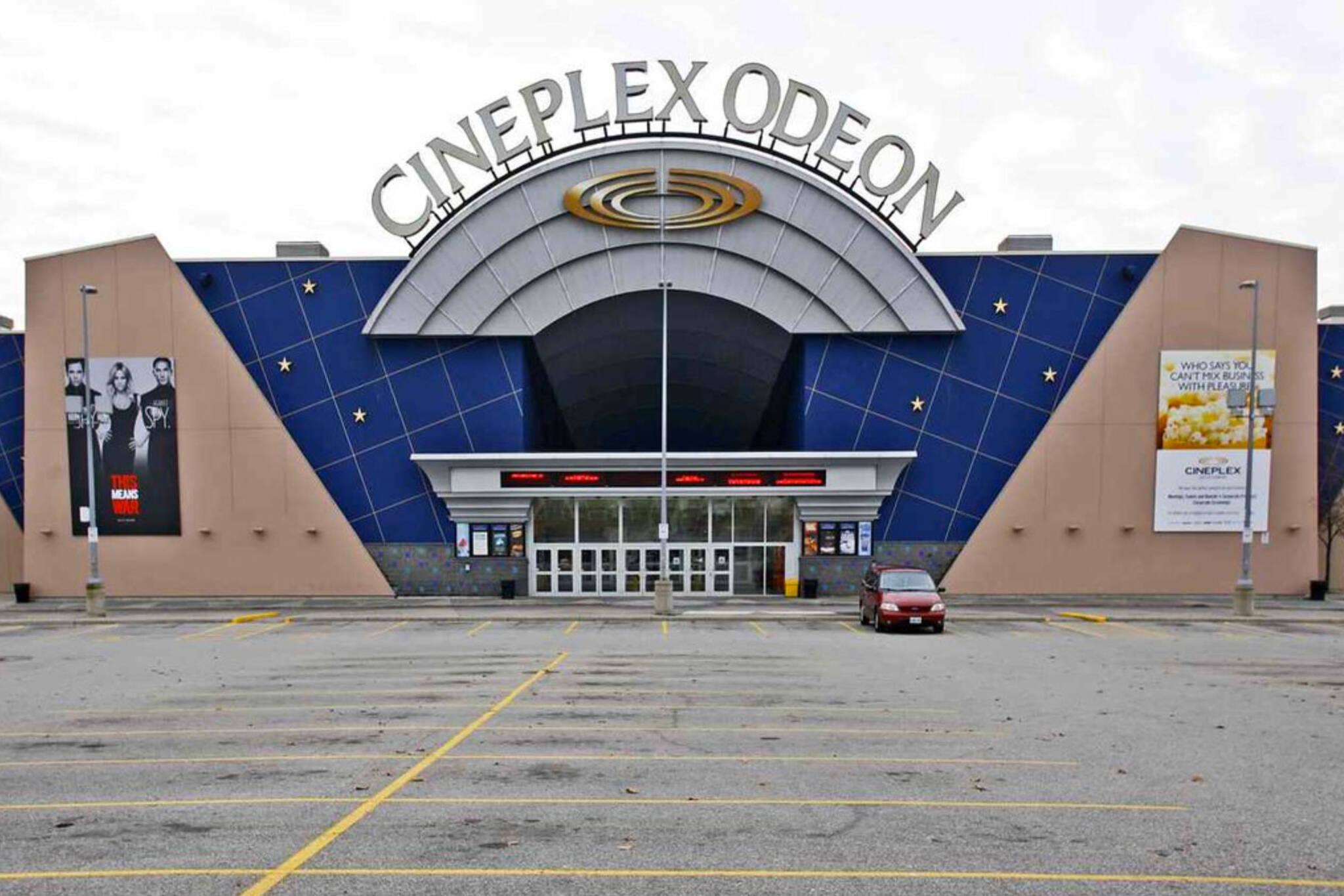 movie theatres open toronto