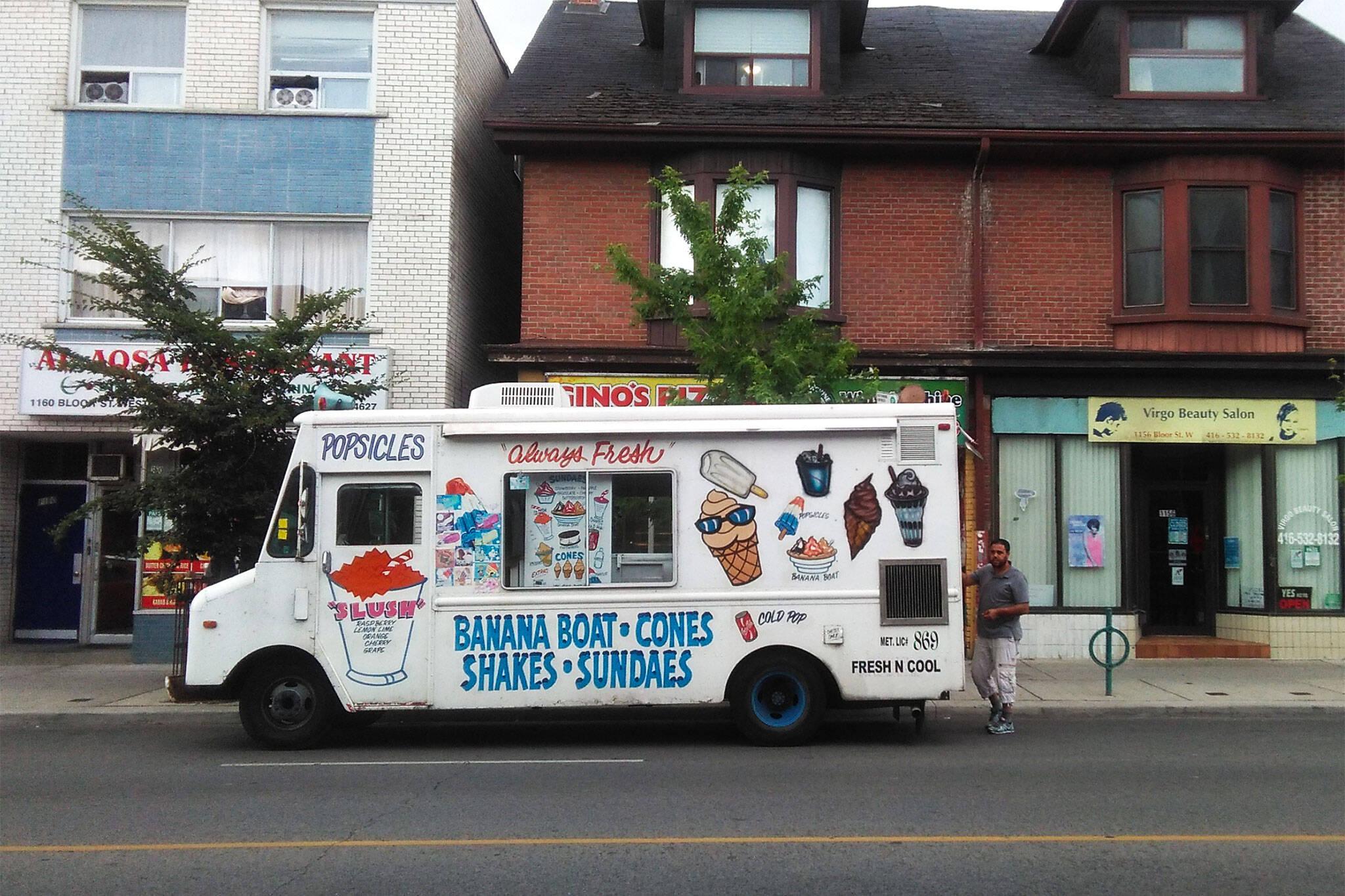 ice cream truck toronto