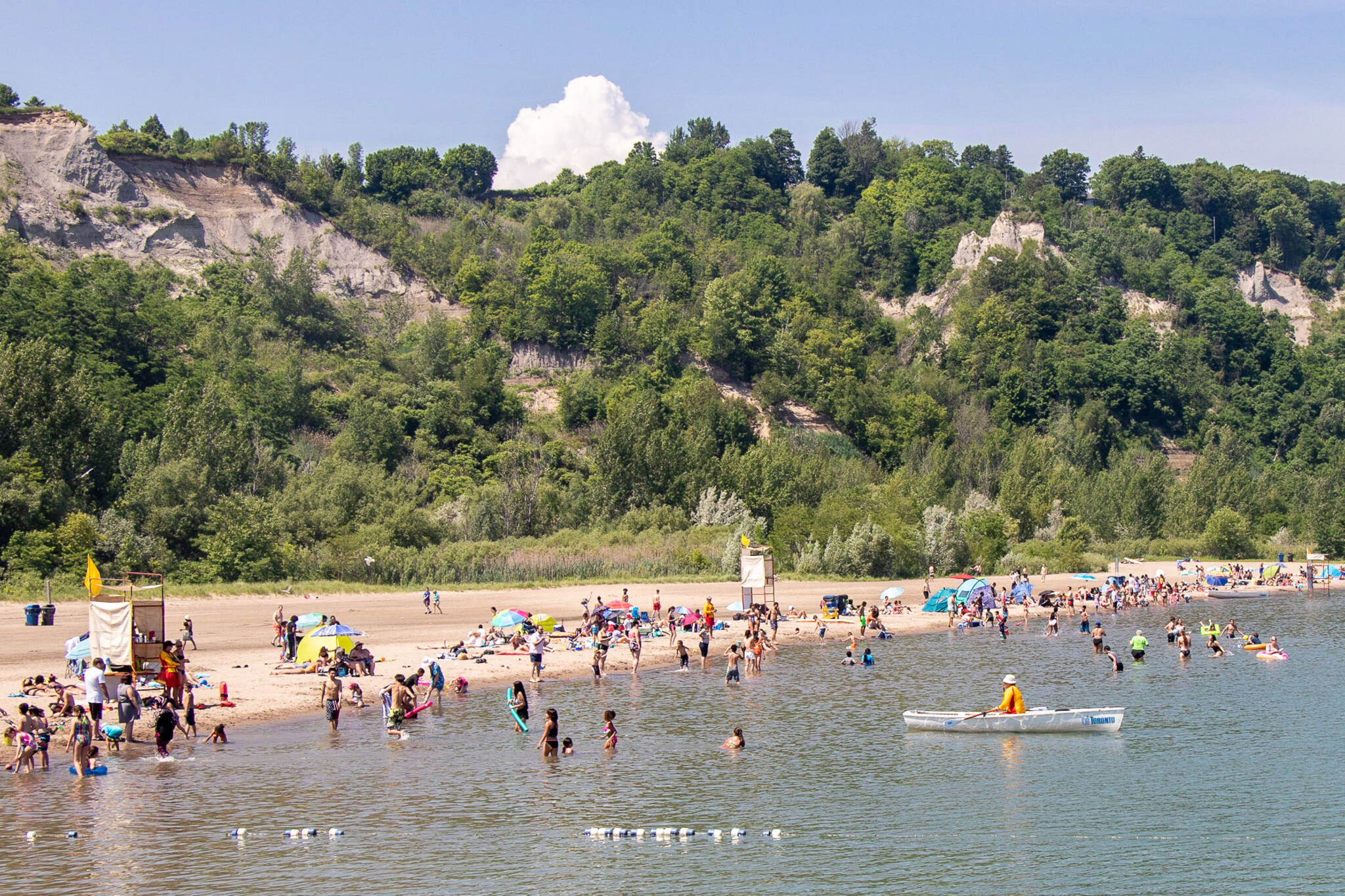is it safe to swim in lake ontario