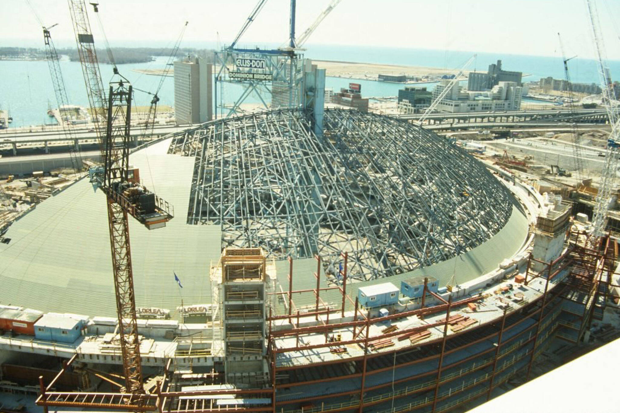 SkyDome construction