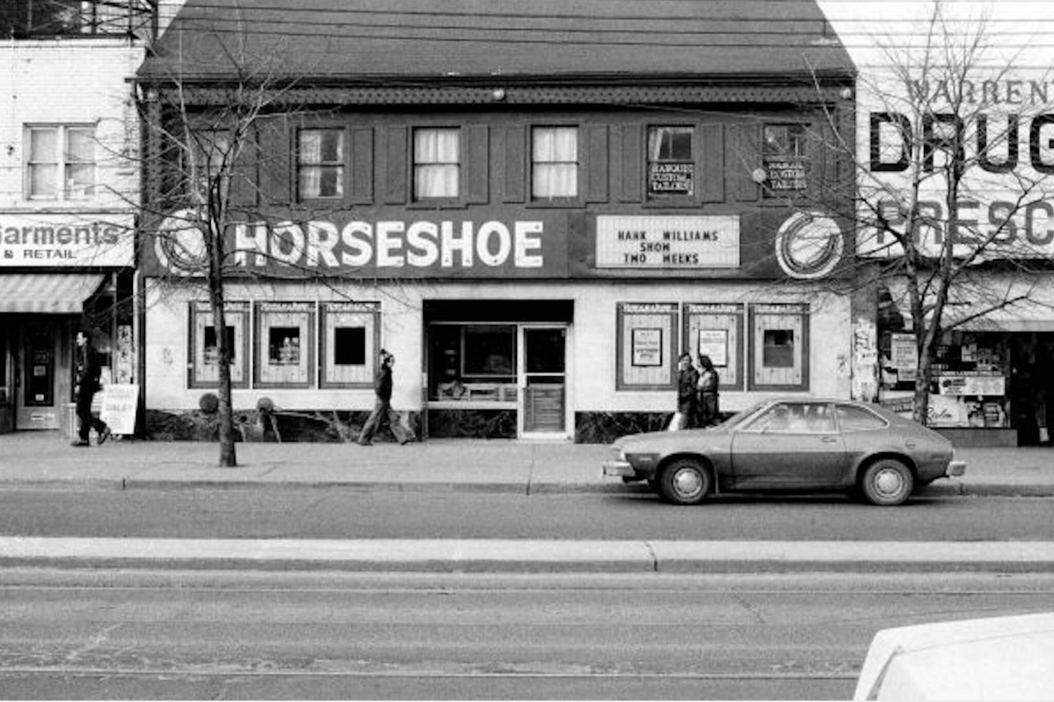 Horseshoe Tavern History
