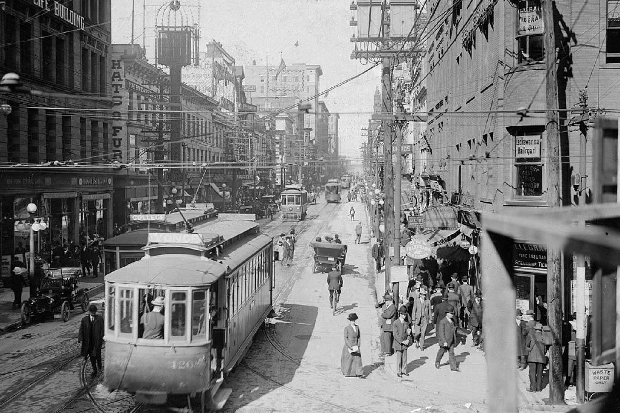 Toronto History photos