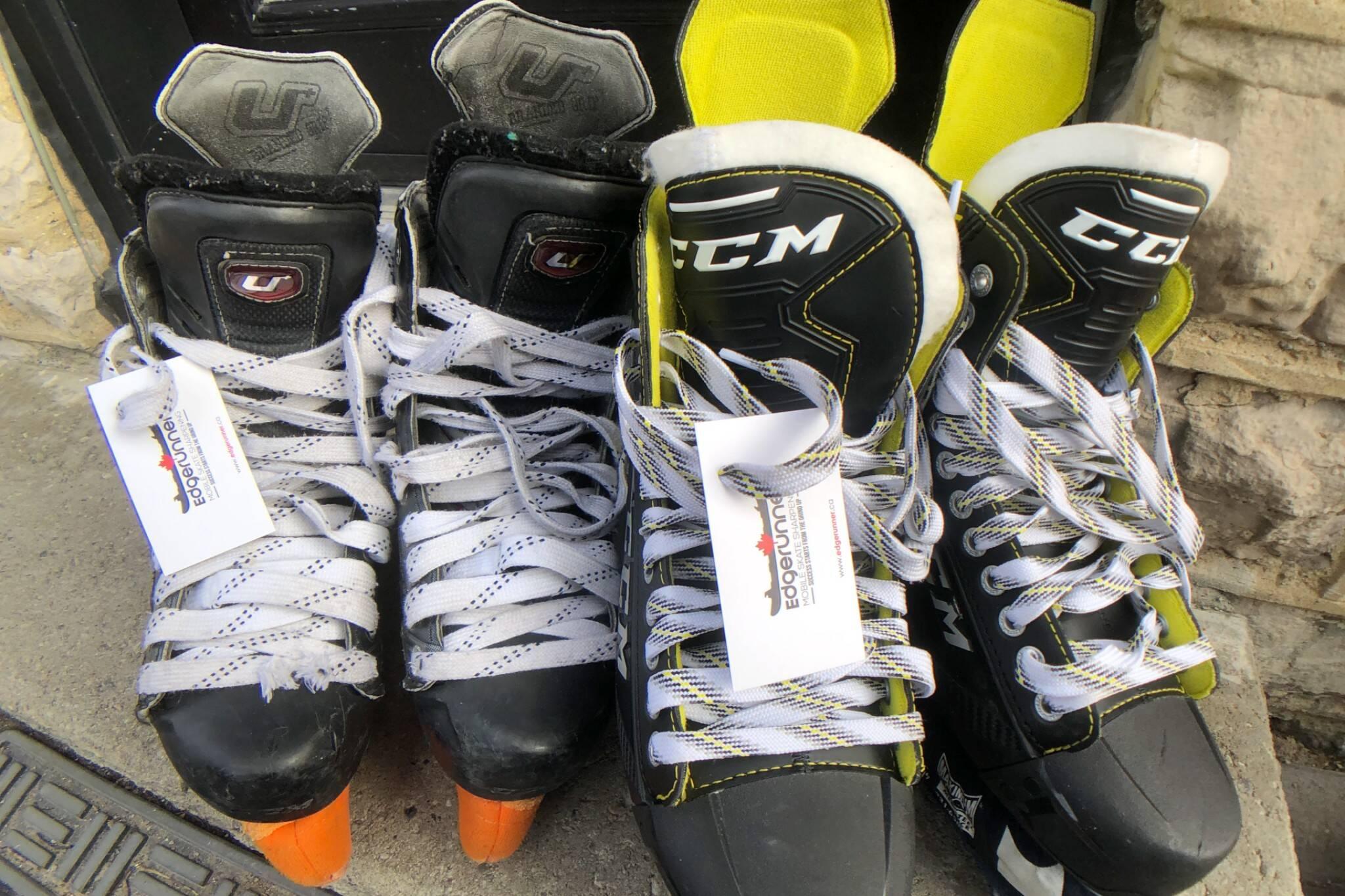 ice skate sharpening toronto