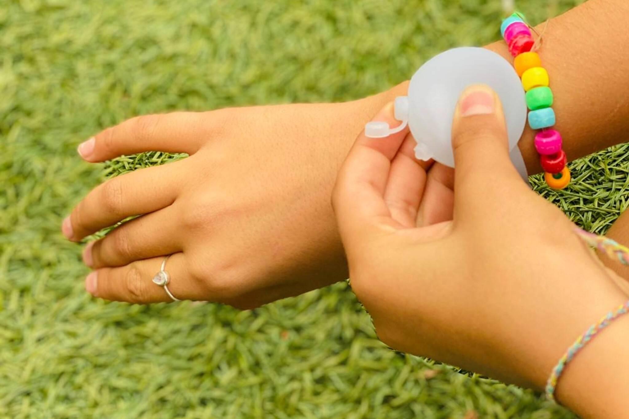 safe hands wristband