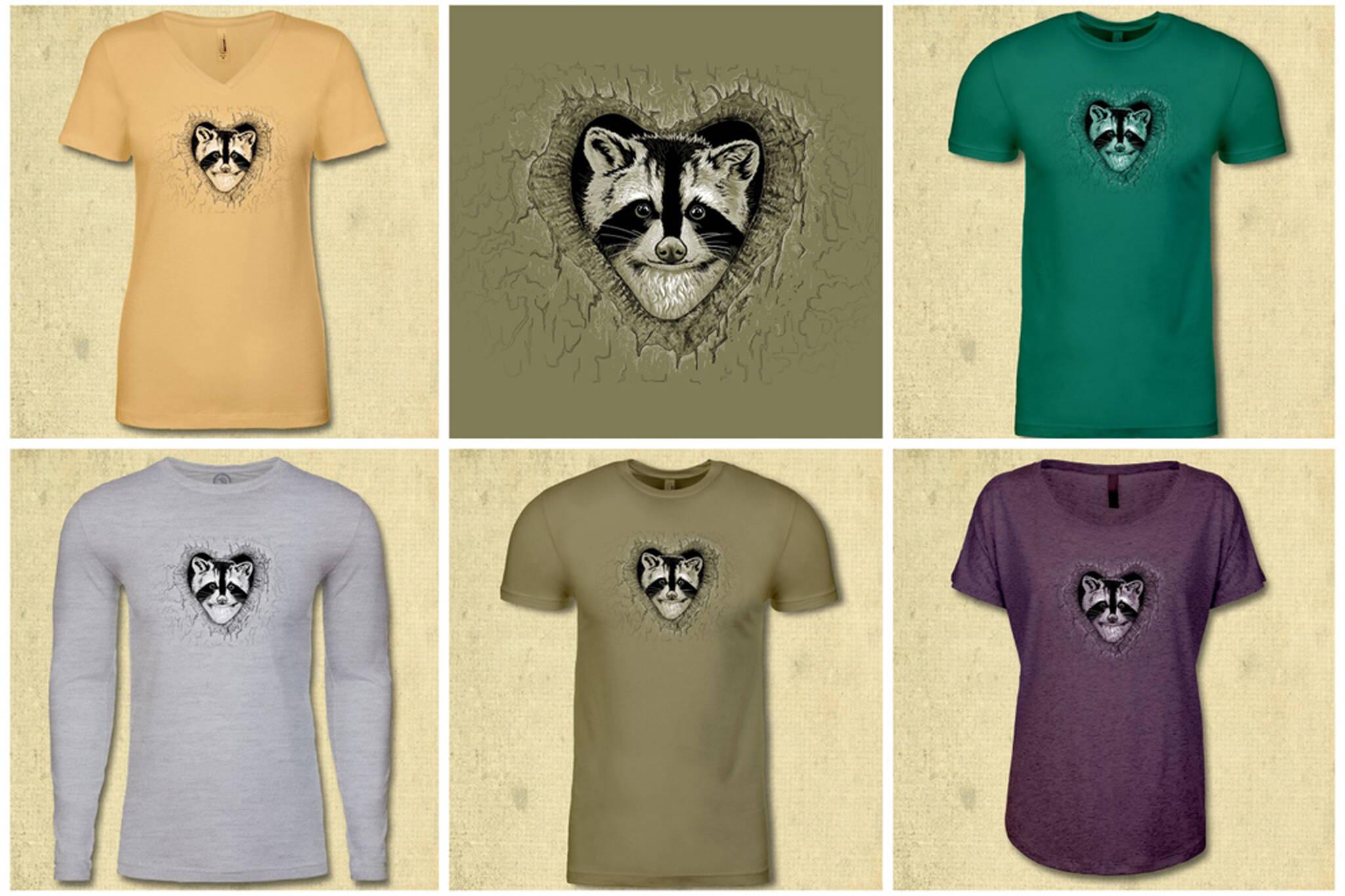 raccoon apparel