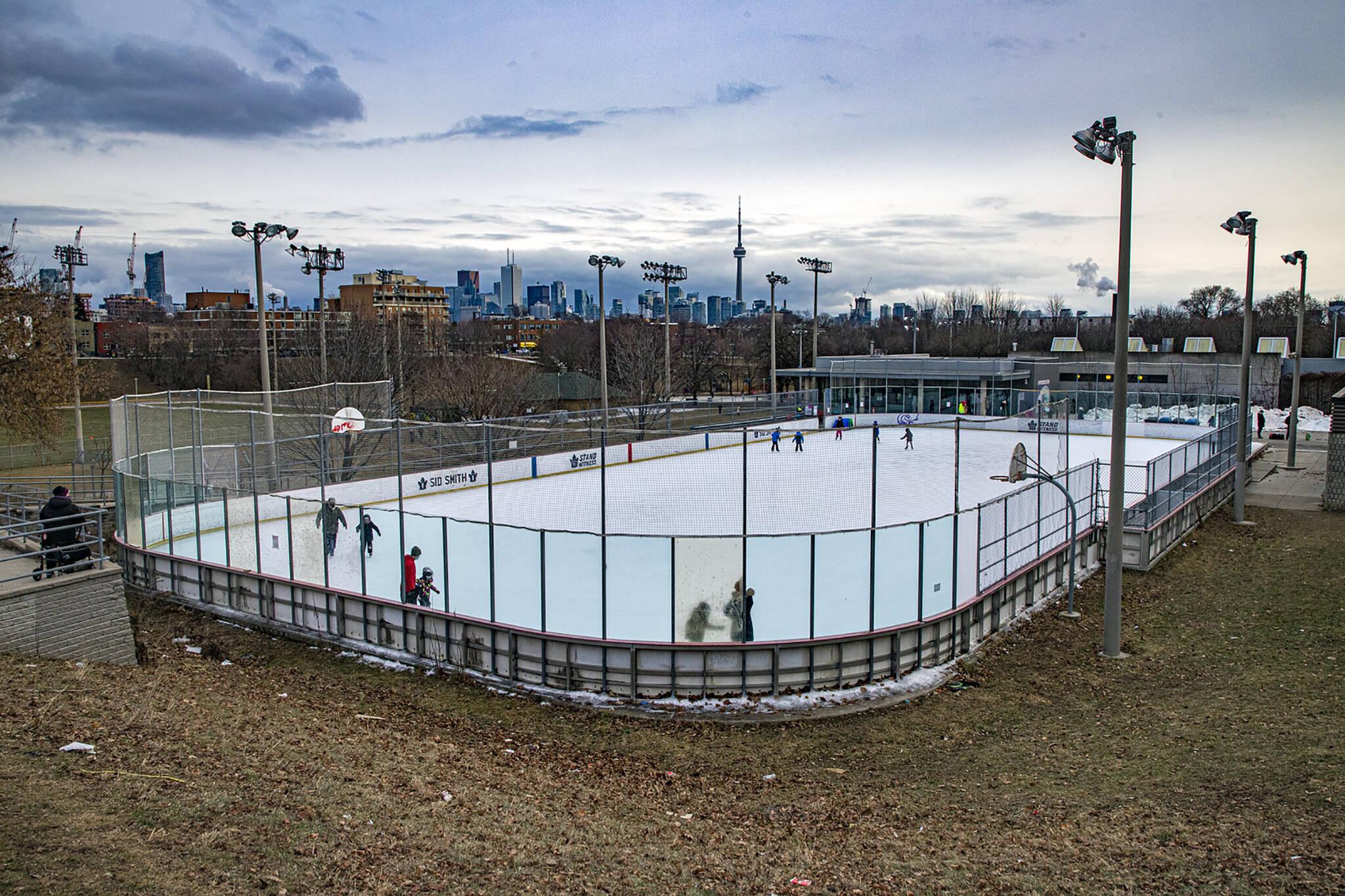 city of toronto skating