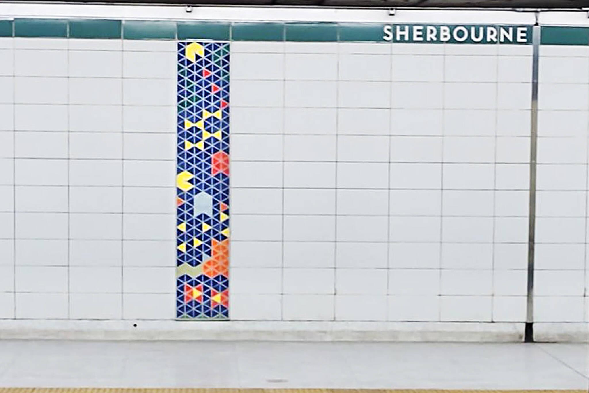 sherbourne station art