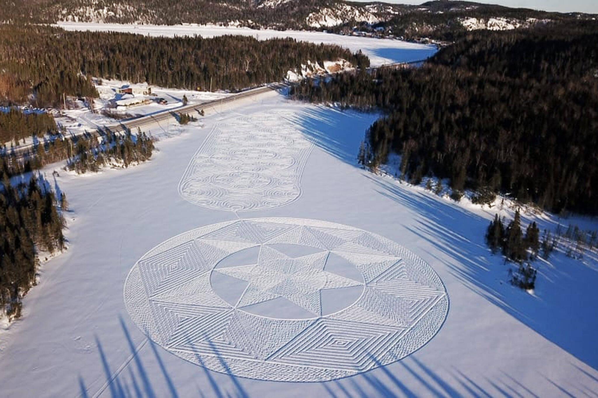 snowshoe art ontario
