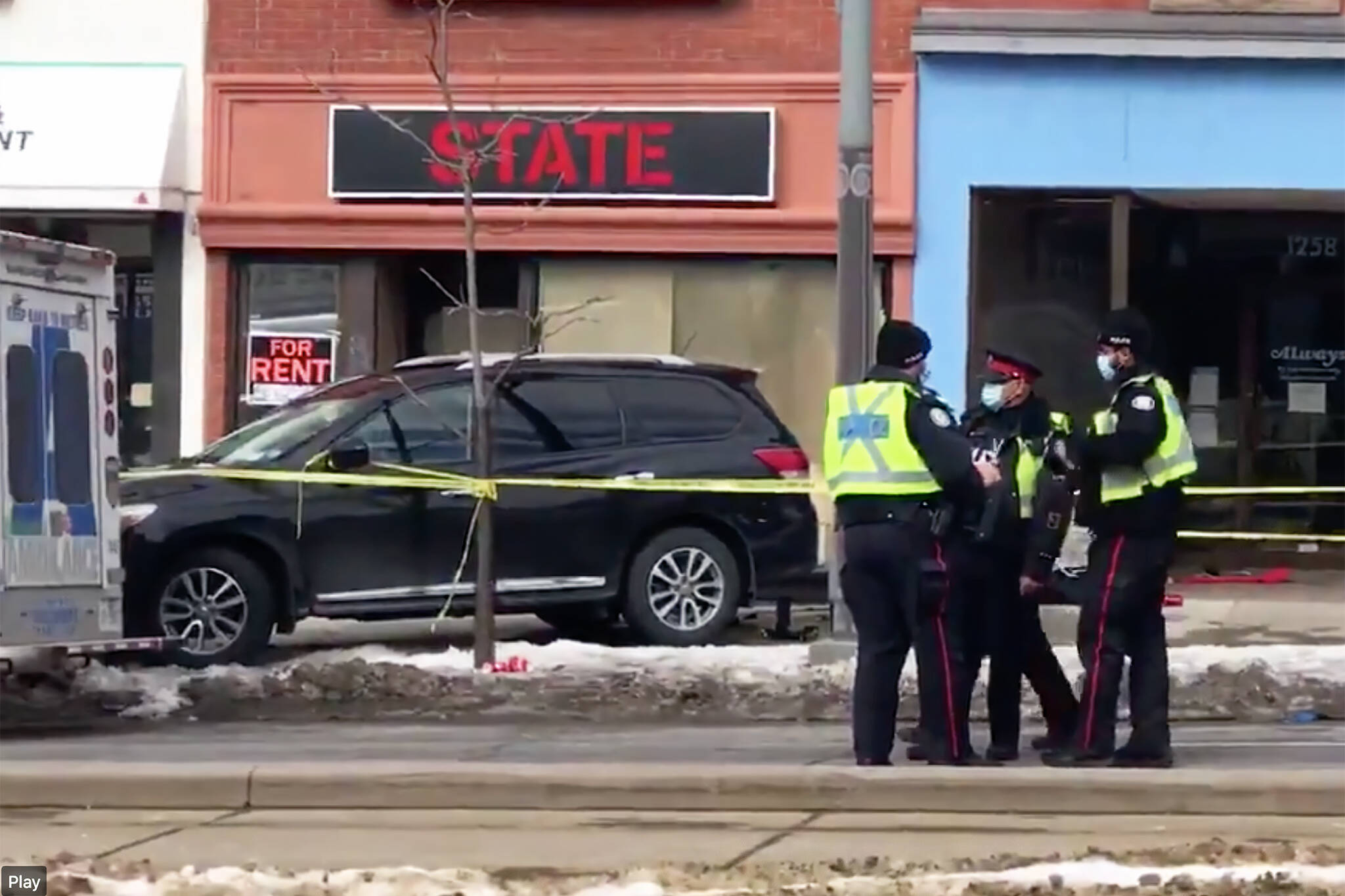 st clair accident today