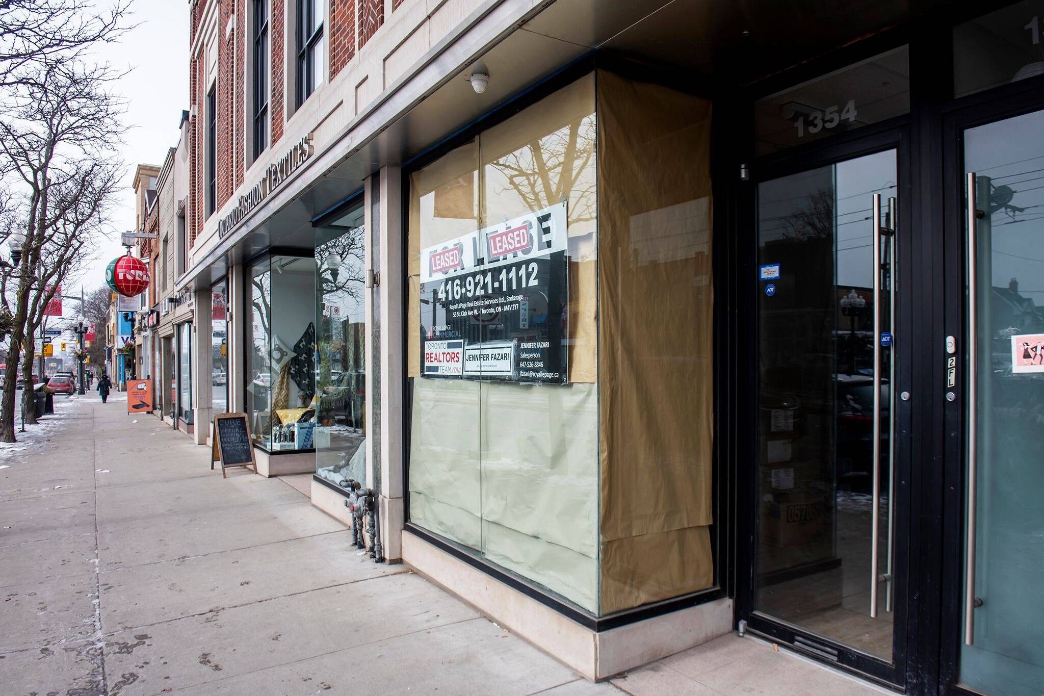 retail space for rent toronto