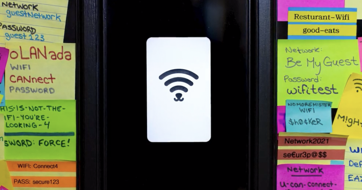Long-time friends from Toronto create technology that lets you connect to WiFi with single tap