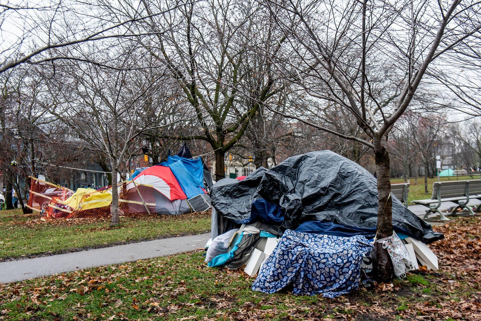 toronto encampments
