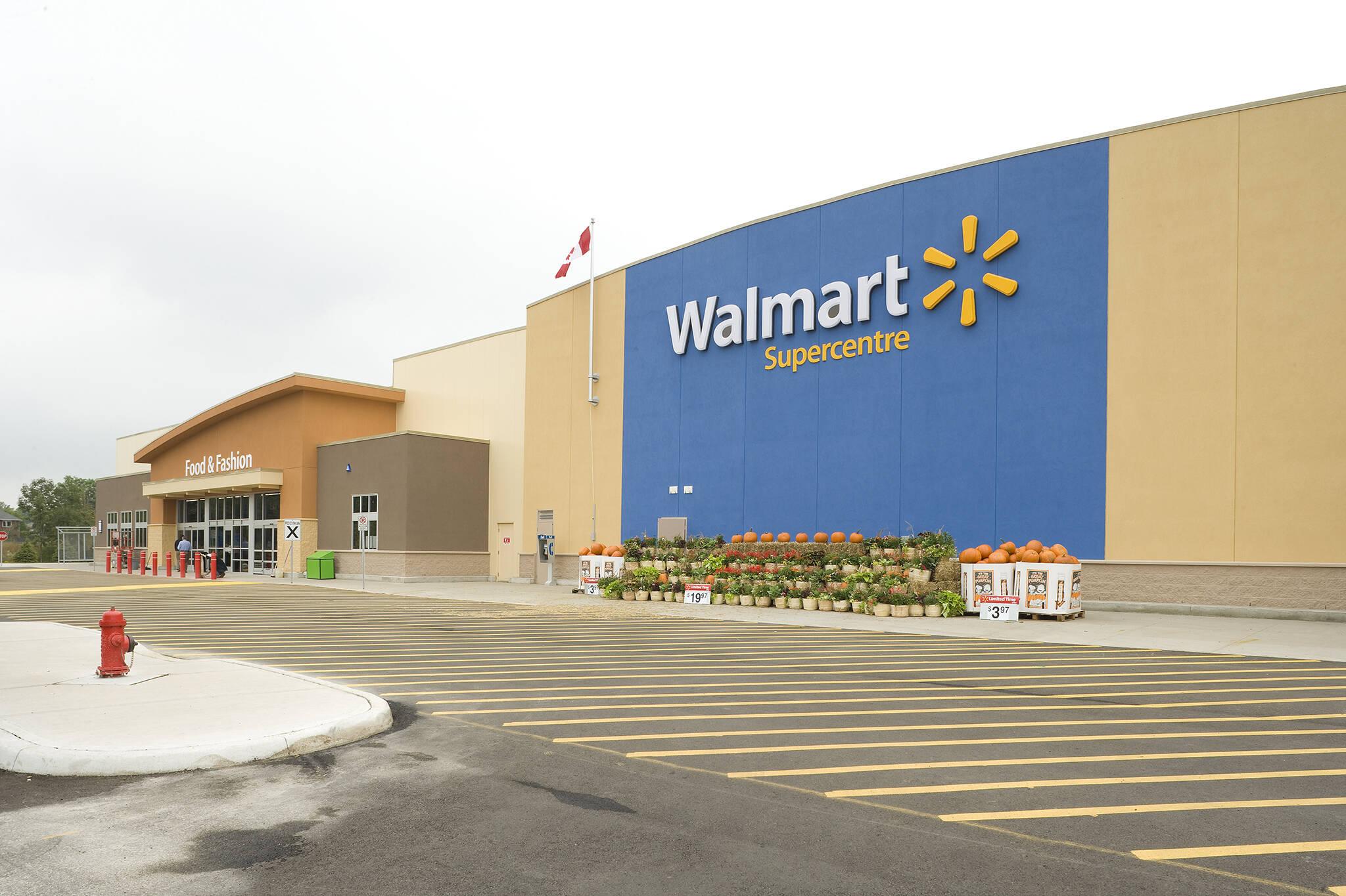 walmart stores closing in ontario