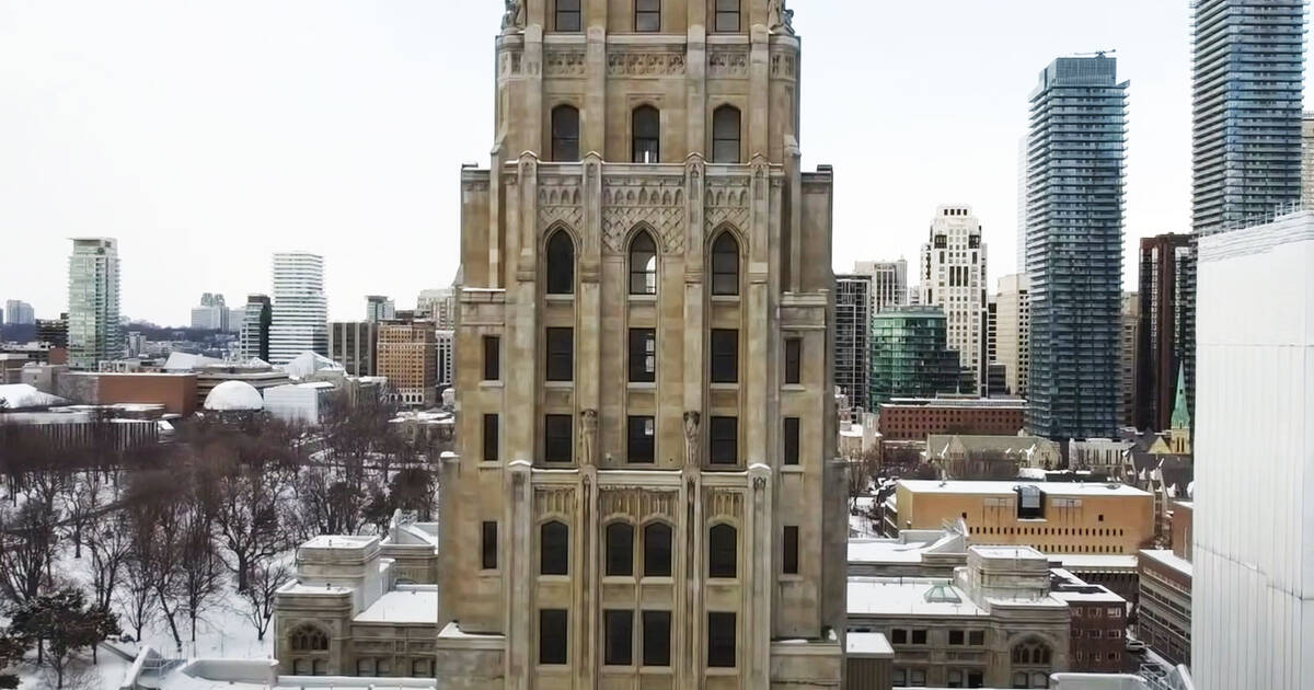 Someone made an epic video about Toronto's ghost tower