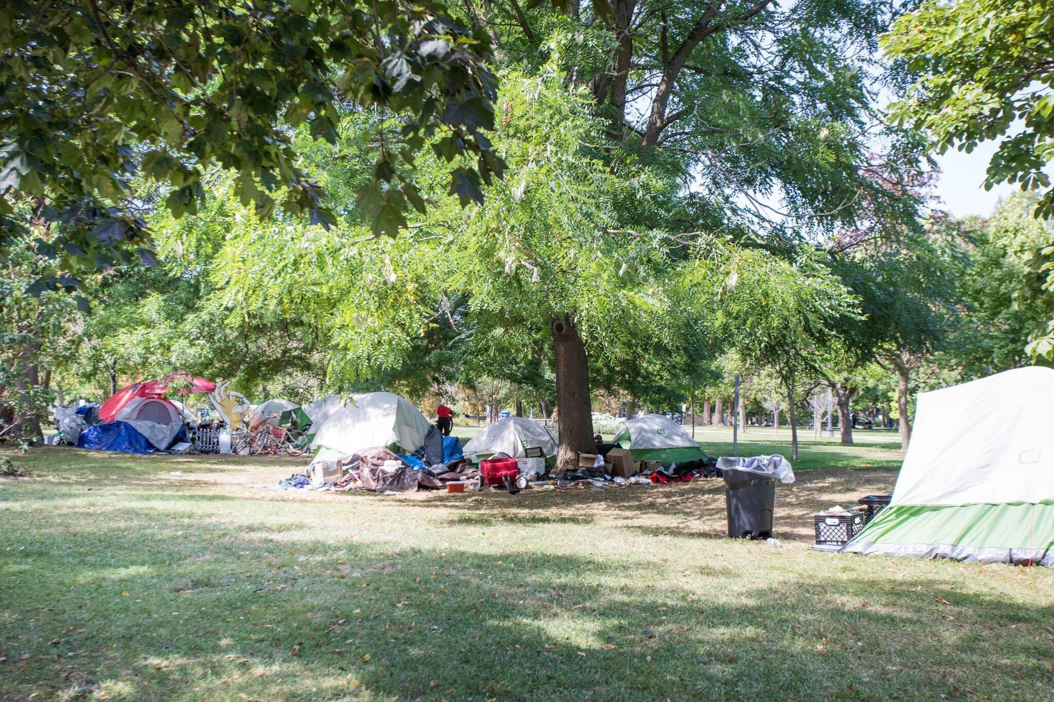 encampment support network