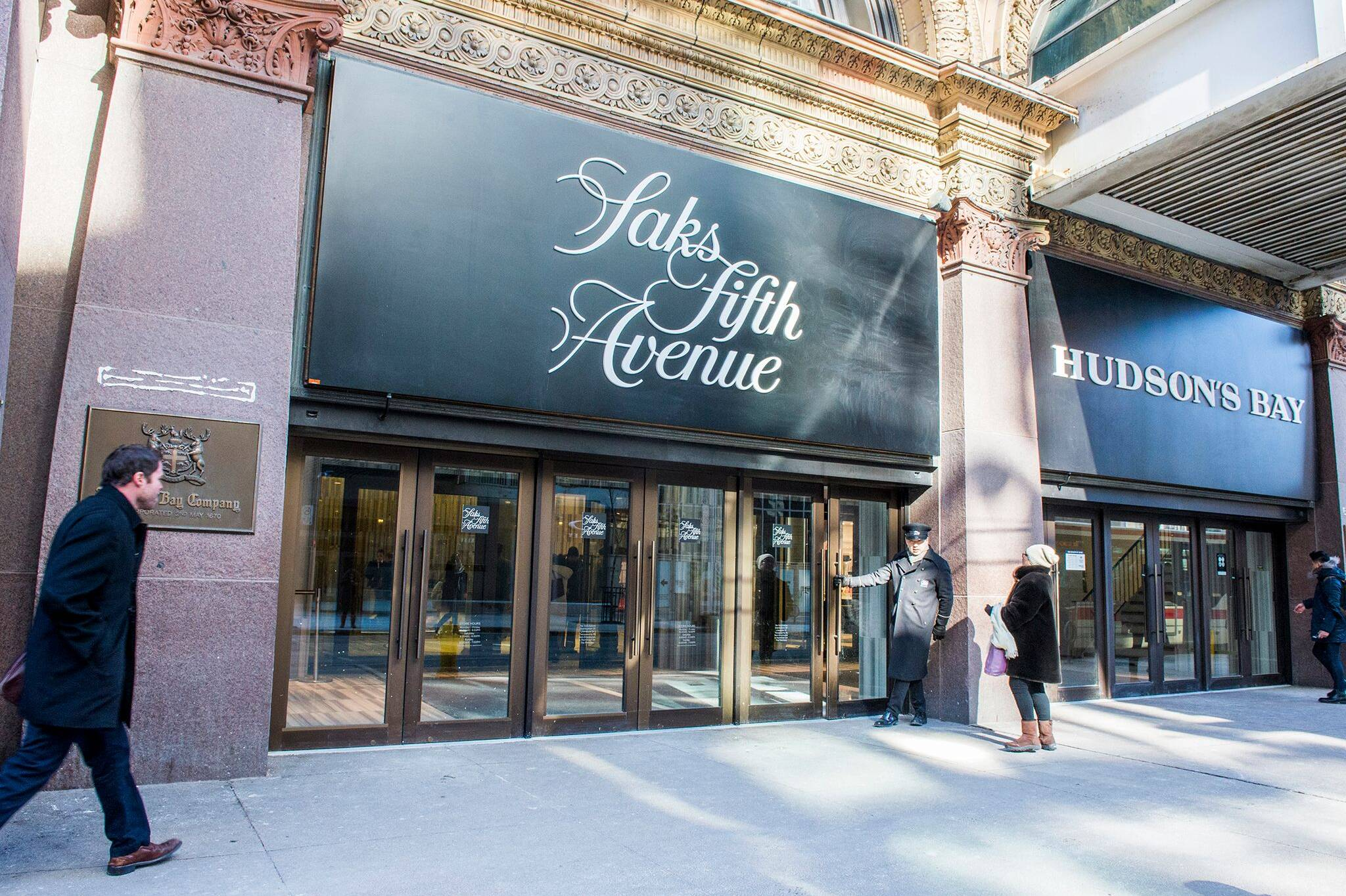 saks fifth avenue toronto