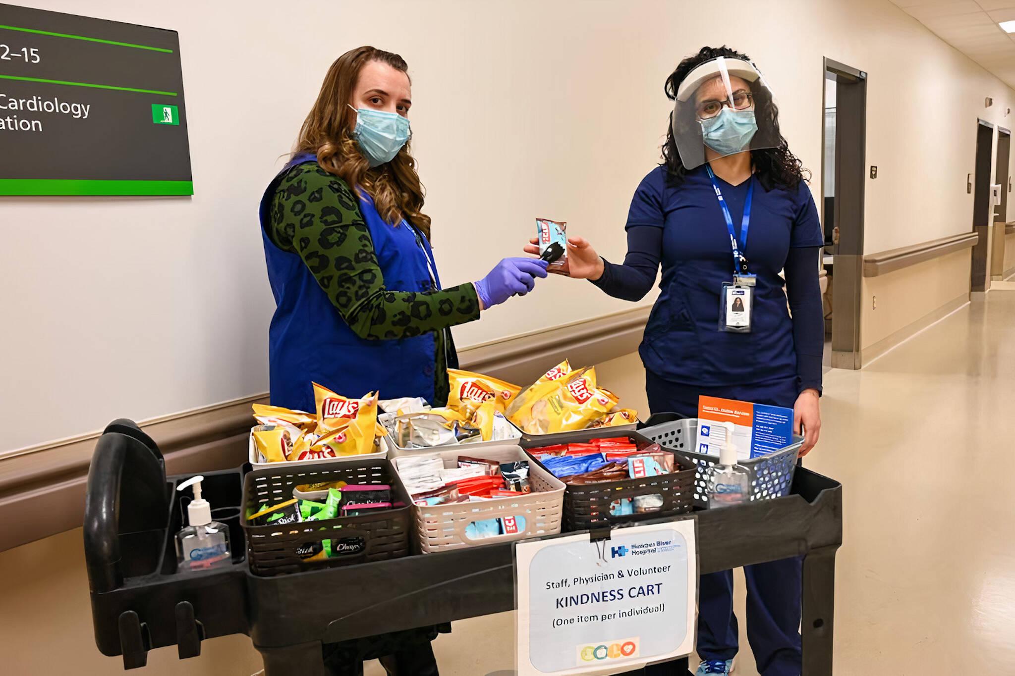 humber river hospital kindness cart