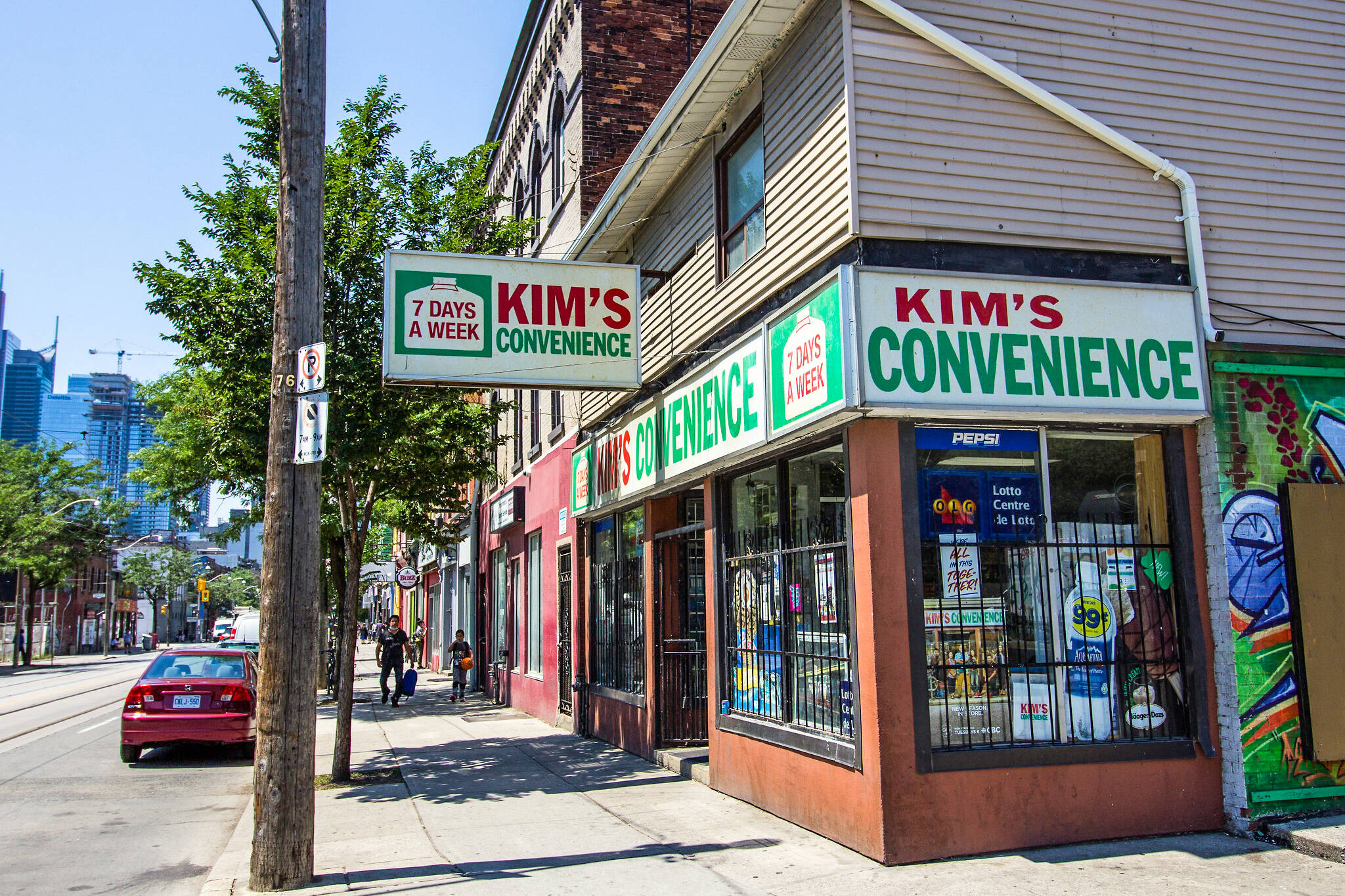 kim's convenience toronto