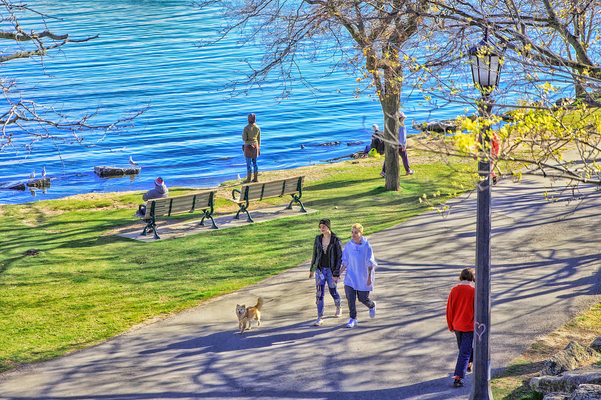 outdoor recreational amenities