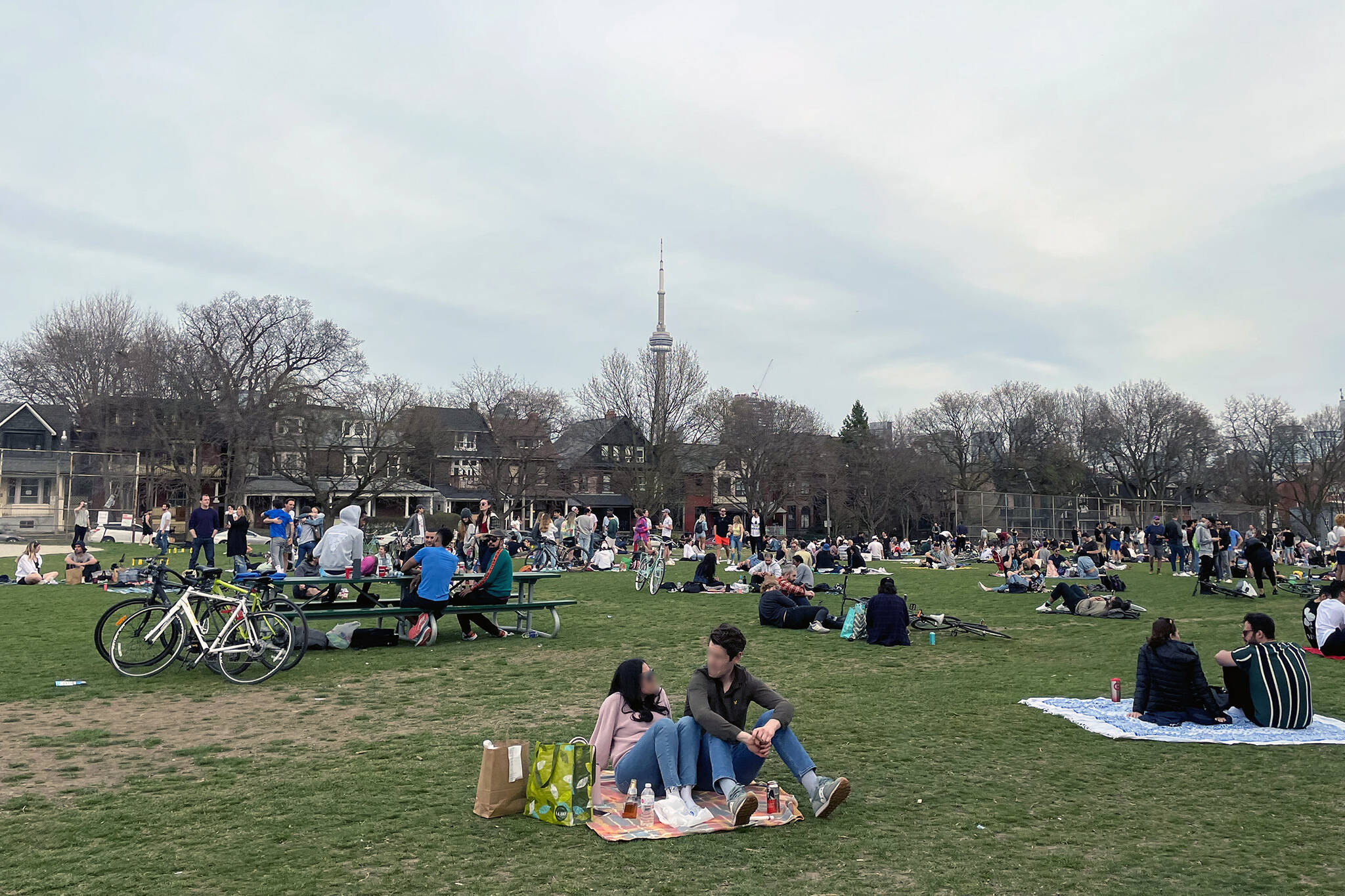 drinking in toronto parks