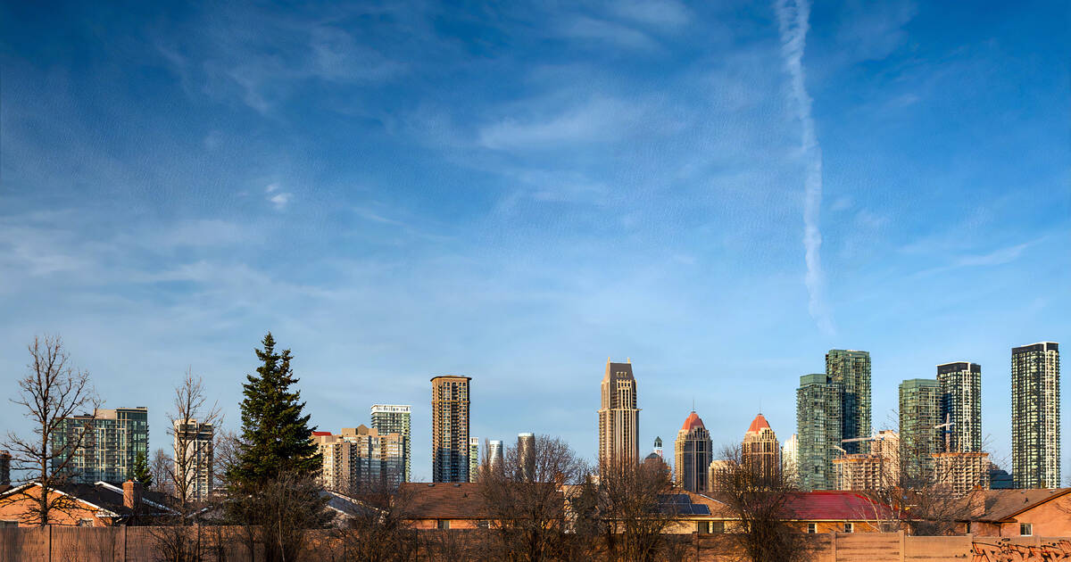 The average home price in Mississauga is now more than $1 million
