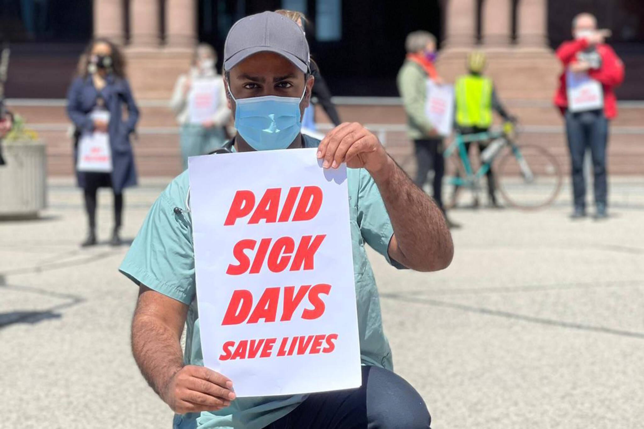 ontario paid sick days