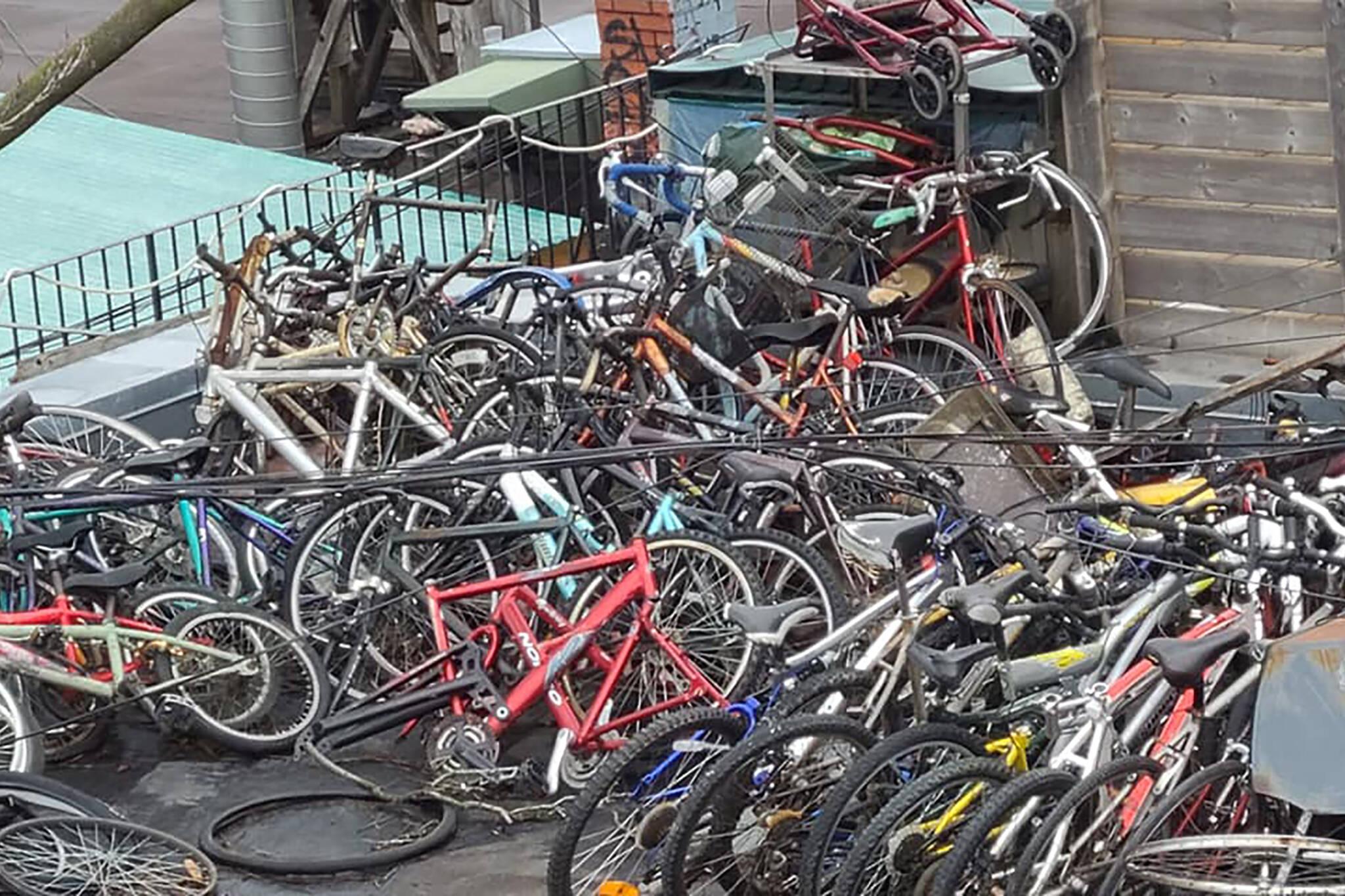 bikes roof kensington toronto