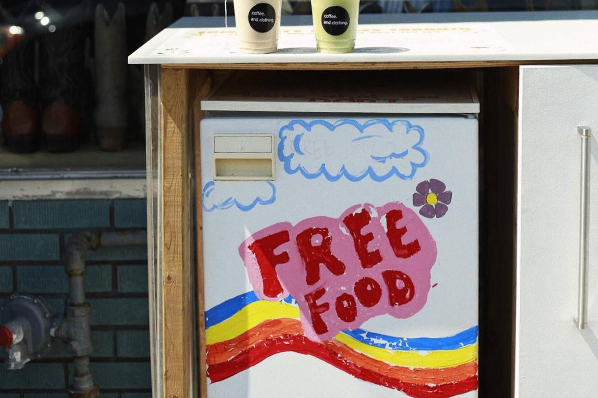 community fridge toronto