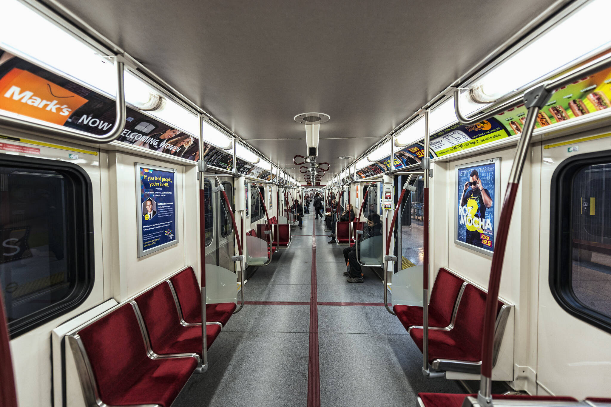 TTC subway guard