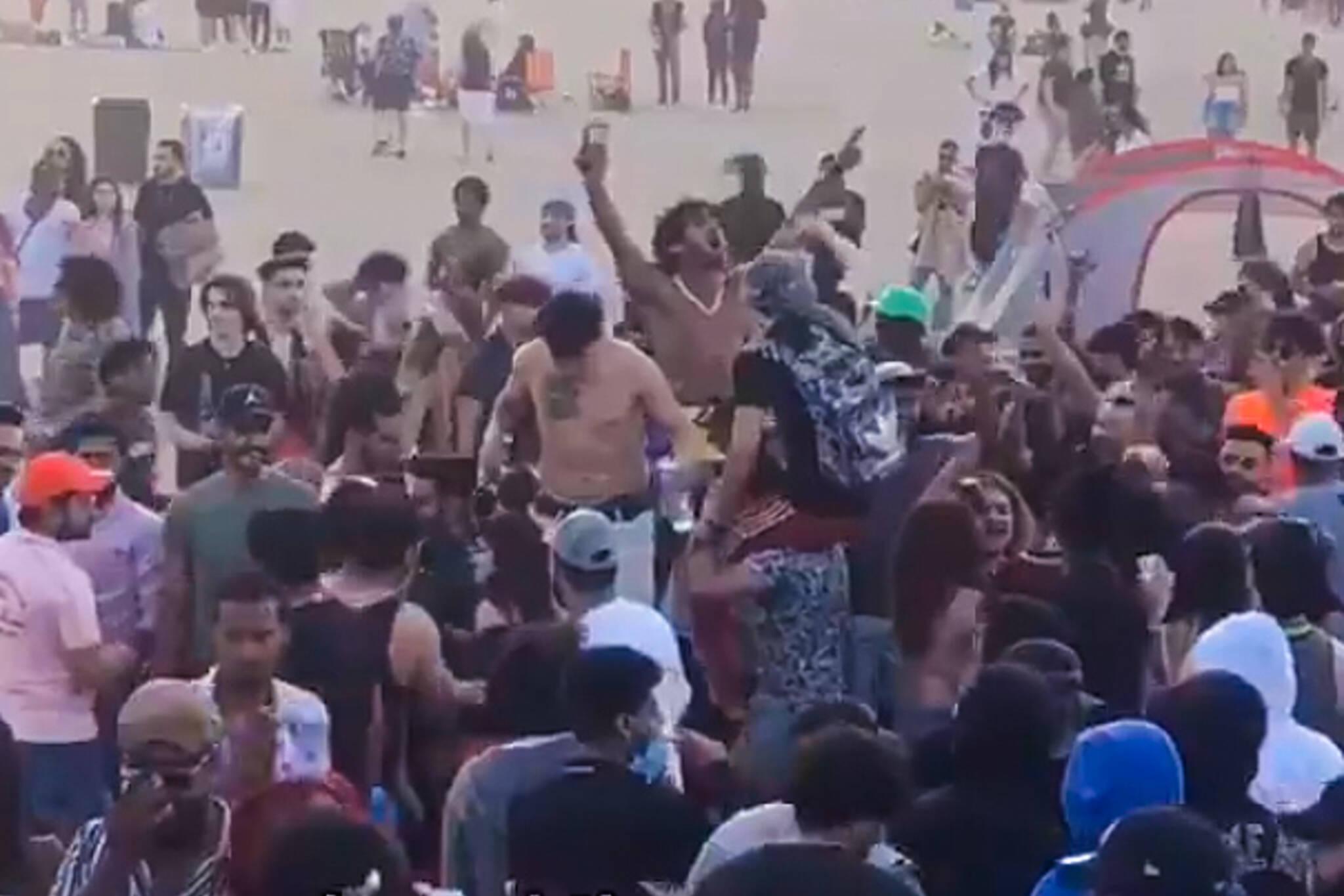 woodbine beach party