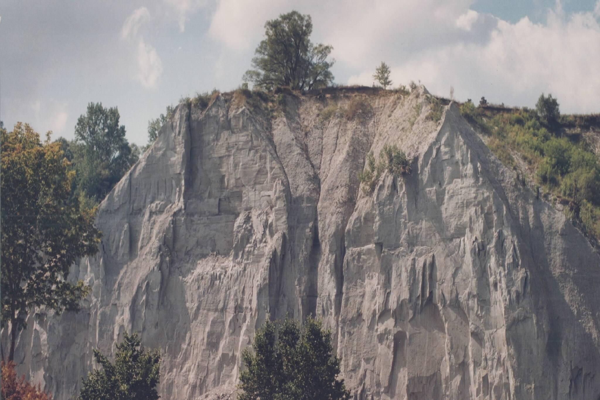 scarborough bluffs landslide toronto