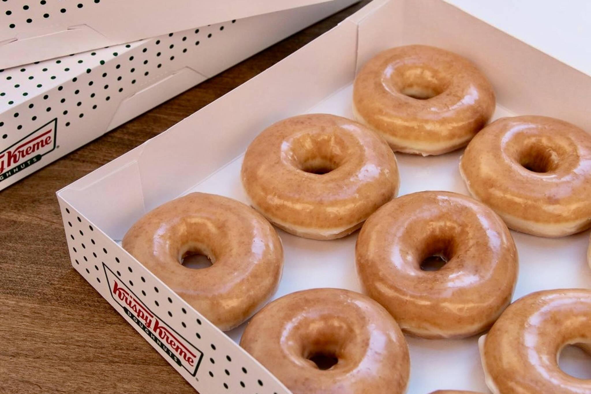 krispy kreme free donut toronto