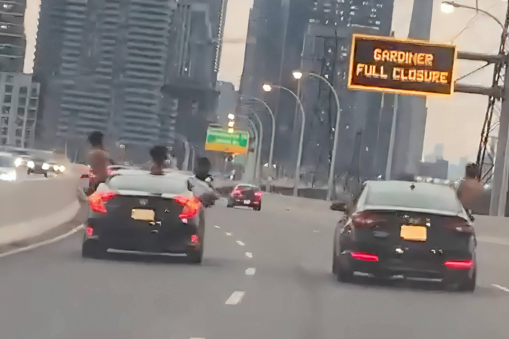 dangerous driving toronto