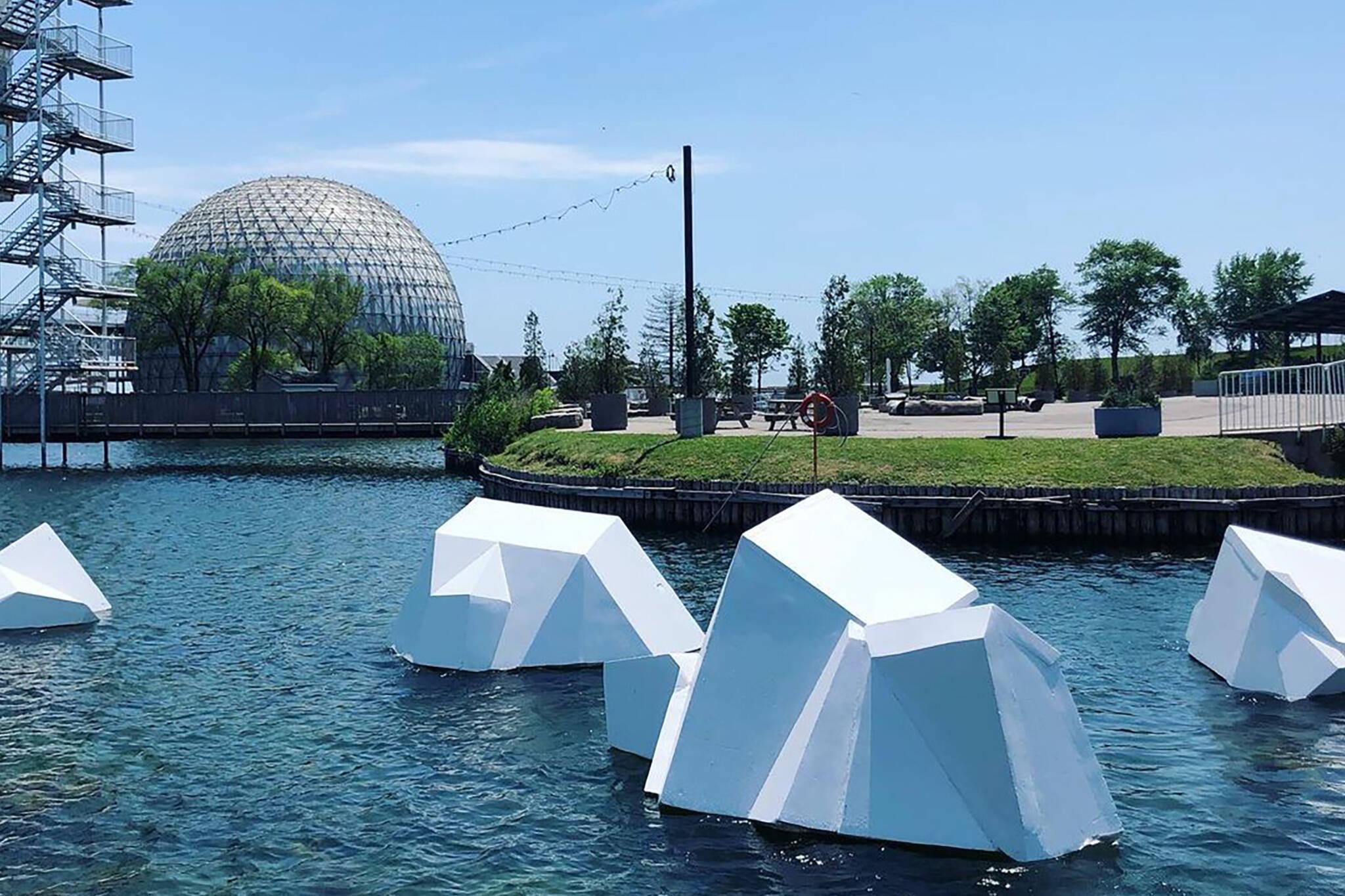 icebergs toronto