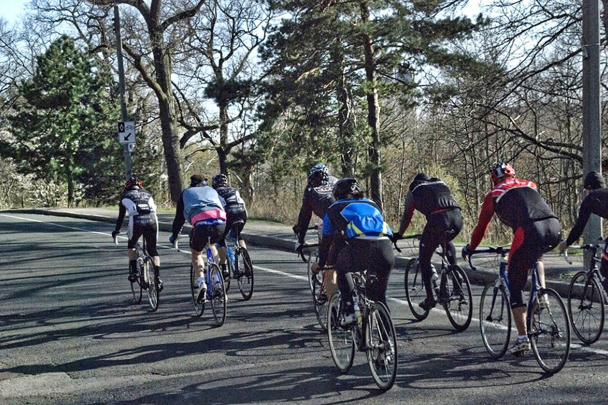 high park cyclists