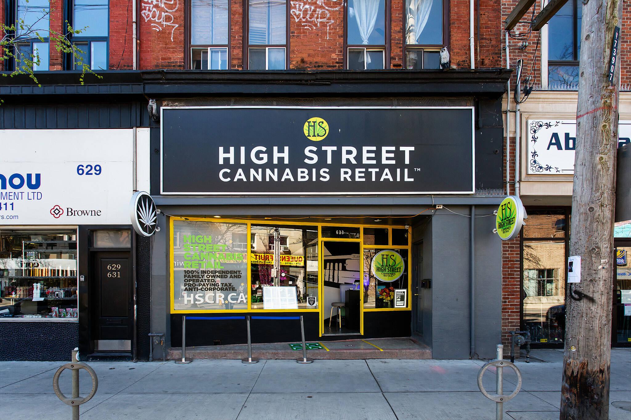 cannabis stores toronto