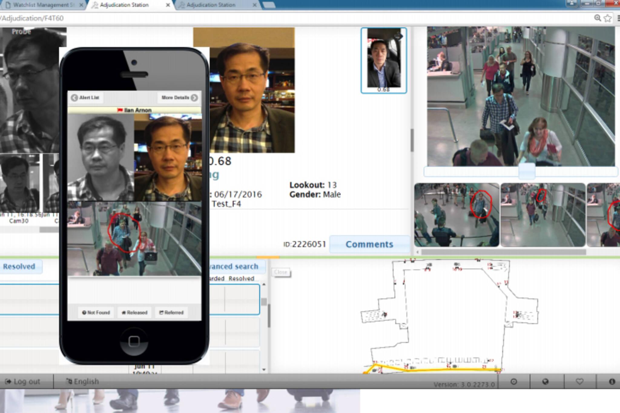 facial recognition pearson