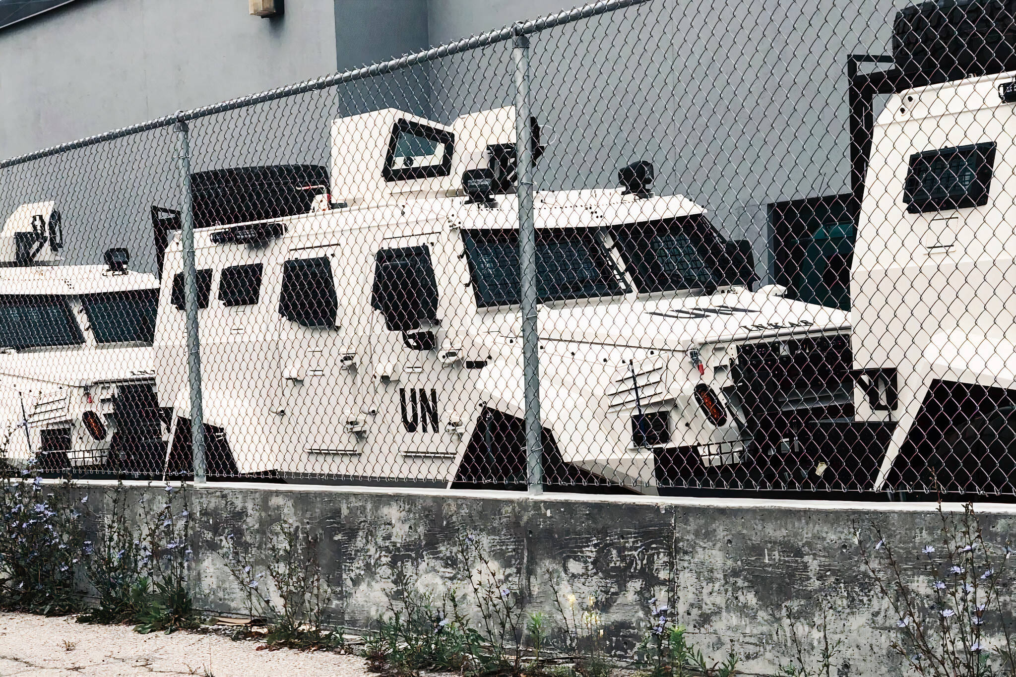 UN vehicles toronto